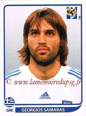 2010 - Panini FIFA World Cup South Africa Stickers - N° 180 - Georgios SAMARAS (Grèce)