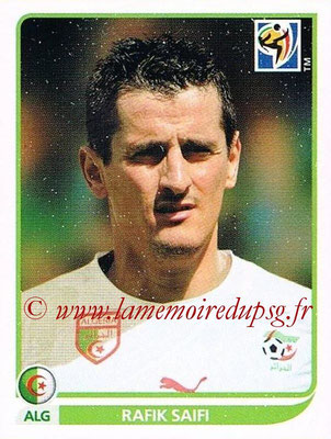 2010 - Panini FIFA World Cup South Africa Stickers - N° 237 - Rafik SAIFI (Algérie)