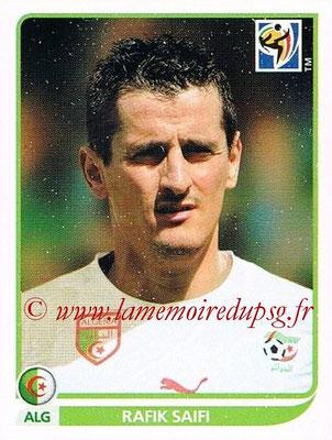 2010 - Panini FIFA World Cup South Africa Stickers - N° 237 - Rafik SAIFI (Algérie)