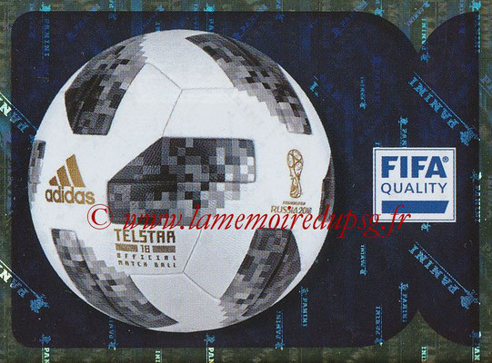 2018 - Panini FIFA World Cup Russia Stickers - N° 007 - Ballon officiel WC 2018