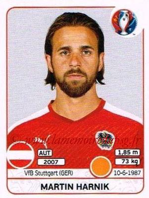 Panini Euro 2016 Stickers - N° 644 - Martin HARNIK (Autriche)