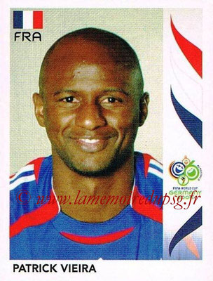 2006 - Panini FIFA World Cup Germany Stickers - N° 466 - Patrick VIEIRA (France)