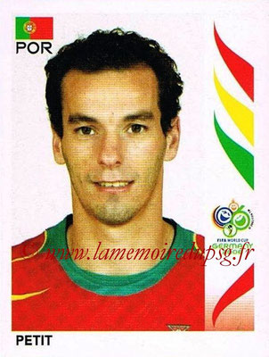 2006 - Panini FIFA World Cup Germany Stickers - N° 295 - PETIT (Portugal)