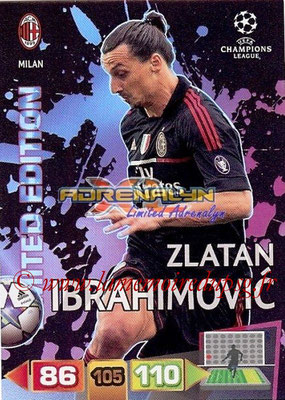2011-12 - Panini Champions League Cards - N° LE33 - Zlatan IBRAHIMOVIC (Milan AC) (Limited Edition)