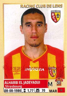 2014-15 - Panini Ligue 1 Stickers - N° 135 - Alharbi EL JADEYAOUI (RC Lens)