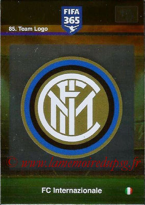 2015-16 - Panini Adrenalyn XL FIFA 365 - N° 085 - Ecusson FC Internazionale (Team Logo)
