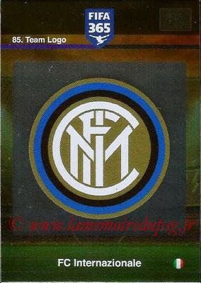 2015-16 - Panini Adrenalyn XL FIFA 365 - N° 085 - Ecusson FC Internazionale (Team Logo)
