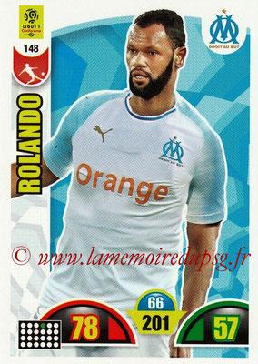 2018-19 - Panini Adrenalyn XL Ligue 1 - N° 148 - ROLANDO (Marseille)
