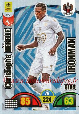 2018-19 - Panini Adrenalyn XL Ligue 1 - N° 527 - Christophe HERELLE (Nice) (Ironman Plus)