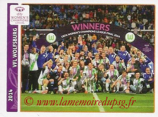 2014-15 - Panini Champions League N° 633 - 2014 - VFL Wolfsburg