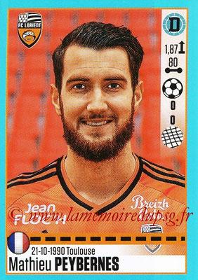 2016-17 - Panini Ligue 1 Stickers - N° T19 - Mathieu PEYBERNES (Lorient) (Set Transfert)