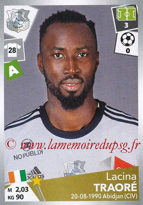2017-18 - Panini Ligue 1 Stickers - N° 020 - Lacina TRAORE (Amiens)