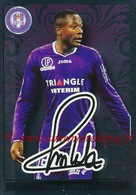 2017-18 - Panini Ligue 1 Stickers - N° 493 - Gianelli IMBULA (Toulouse) (Top Recrue)