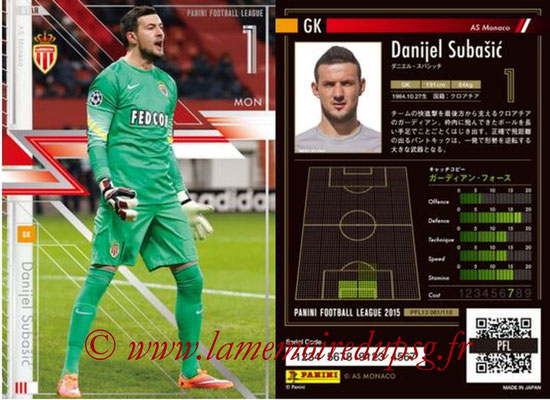 Panini Football League 2015 - PFL13 - N° 061 - Danijel SUBASIC (AS Monaco) (Star)