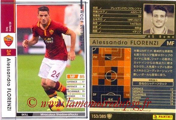 2013-14 - WCCF - N° 153 - Alessandro FLORENZI (AS Roma)
