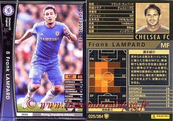 2012-13 - WCCF - N° 025 - Frank LAMPARD (Chelsea FC)