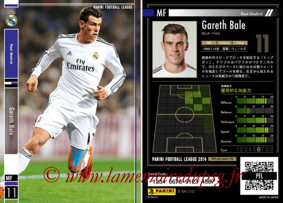 Panini Football League 2014 - PFL08 - N° 044 - Gareth BALE (Real Madrid)