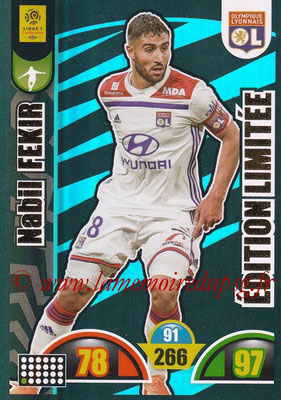 2018-19 - Panini Adrenalyn XL Ligue 1 - N° LE-NF- Nabil FEKIR (Lyon) (Edition Limitée)