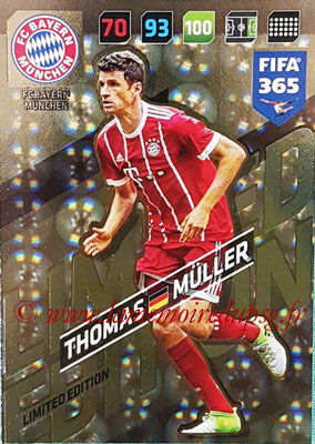 2017-18 - Panini FIFA 365 Cards - N° LE-TM - Thomas Müller (FC Bayern Munich) (Limited Edition)