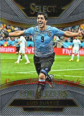 2015 - Panini Select Soccer - N° E20 - Luis SUAREZ (Uruguay) (Equalizers)