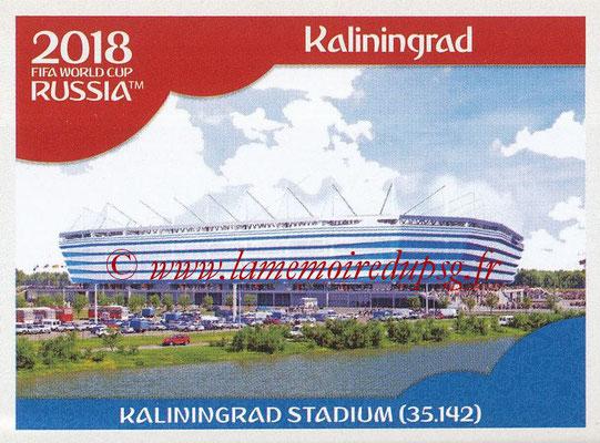 2018 - Panini FIFA World Cup Russia Stickers - N° 009 - Kaliningrad Stadium, Kaliningrad (Stades et Villes)