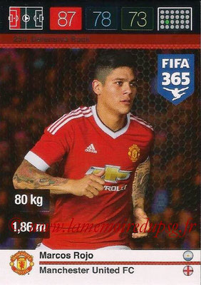 2015-16 - Panini Adrenalyn XL FIFA 365 - N° 254 - Marcos ROJO (Manchester United FC) (Defensive Rock)