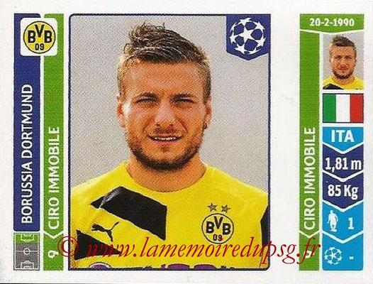 2014-15 - Panini Champions League N° 281 - Ciro IMMOBILE (Borussia Dortmund)