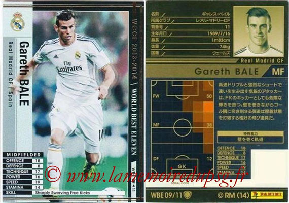 2013-14 - WCCF - N° WBE09 - Gareth BALE (Real Madrid CF) (World Best Eleven)