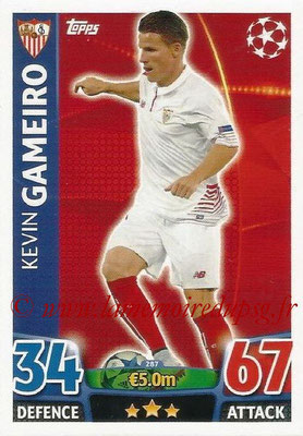 2015-16 - Topps UEFA Champions League Match Attax - N° 287 - Kevin GAMEIRO (FC Seville)