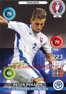 Panini Euro 2016 Cards - N° 356 - Peter PEKARIK (Slovenie)