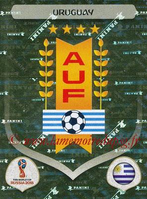 2018 - Panini FIFA World Cup Russia Stickers - N° 092 - Ecusson Uruguay