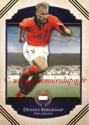 2014 - Futera World Football Unique - N° 102 - Dennis BERGKAMP (The Greats)