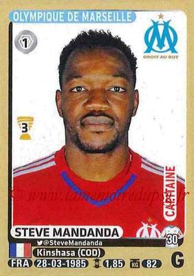 2015-16 - Panini Ligue 1 Stickers - N° 218 - Steve MANDANDA (Olympique de Marseille)