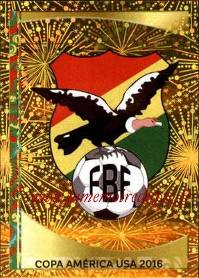 Panini Copa America Centenario USA 2016 Stickers - N° 374 - Logo Bolivie