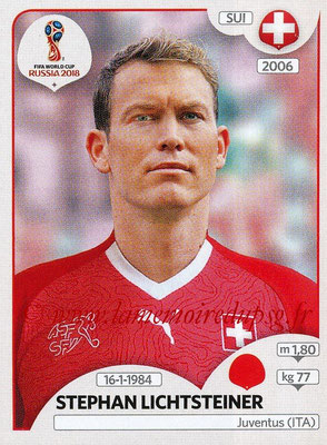2018 - Panini FIFA World Cup Russia Stickers - N° 375 - Stephan LICHTSTEINER (Suisse)
