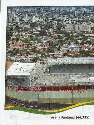 2014 - Panini FIFA World Cup Brazil Stickers - N° 012 - Arena Pantanal - Cuiaba (1)