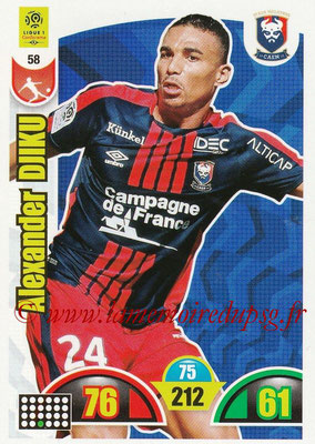 2018-19 - Panini Adrenalyn XL Ligue 1 - N° 058 - Alexander DJIKU (Caen)