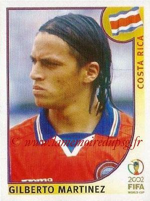 2002 - Panini FIFA World Cup Stickers - N° 229 - Gilberto MARTINEZ (Costa Rica)