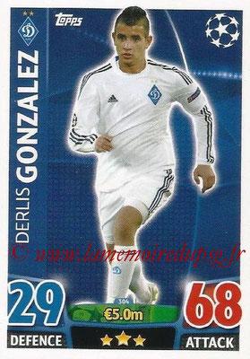 2015-16 - Topps UEFA Champions League Match Attax - N° 304 - Derlis GONZALEZ (FC Dynamo Kiev)