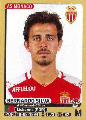 2015-16 - Panini Ligue 1 Stickers - N° 258 - Bernardo SILVA (AS Monaco)