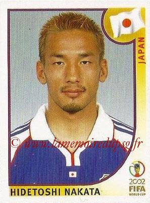 2002 - Panini FIFA World Cup Stickers - N° 541 - Hidetoshi NAKATA (Japon)