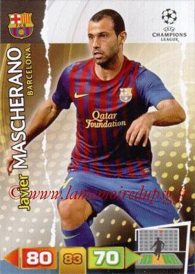 2011-12 - Panini Champions League Cards - N° 031 - Javier MASCHERANO (FC Barcelone)