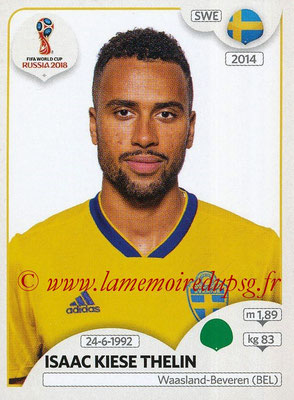 2018 - Panini FIFA World Cup Russia Stickers - N° 488 - Issac KIESE THELIN (Suede)