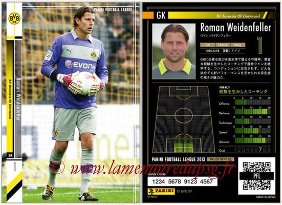 Panini Football League 2013 - PFL03 - N° 097 - Roman Weidenfeller (Borussia Dortmund)