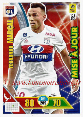 2017-18 - Panini Adrenalyn XL Ligue 1 - N° 128bis - Fernando MARCAL (Lyon) (Mise à jour)
