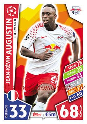2017-18 - Topps UEFA Champions League Match Attax - N° 087 - Jean-Kévin AUGUSTIN (RB Leipzig)