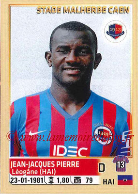 2014-15 - Panini Ligue 1 Stickers - N° 058 - Jean-Jacques PIERRE (SM Caen)