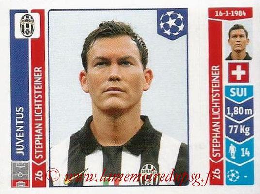 2014-15 - Panini Champions League N° 056 - Stephan LICHSTEINER (Juventus Turin)