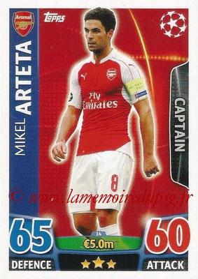 N° 014 - Mikel ARTETA (Janv 2001-02, PSG > 2015-16, Arsenal, ANG) (Captain)