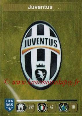 2015-16 - Panini FIFA 365 Stickers - N° 551- Ecusson Juventus FC